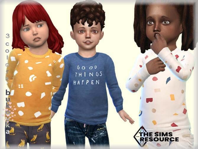 Sims 4 Sweater Toddler by bukovka at TSR