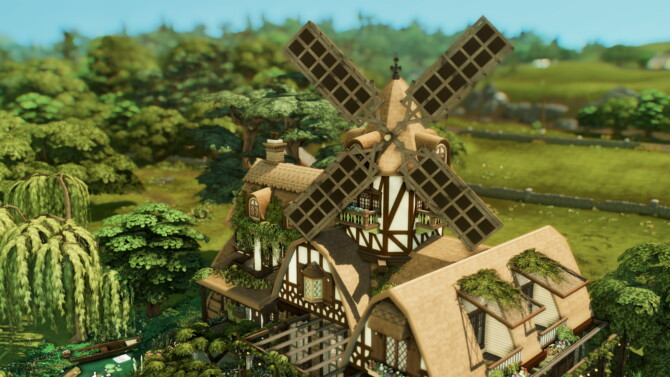 Sims 4 Flower Cottage by plumbobkingdom at Mod The Sims 4