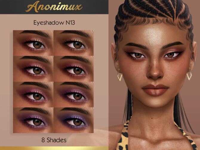 Sims 4 Eyeshadow N13 by Anonimux Simmer at TSR