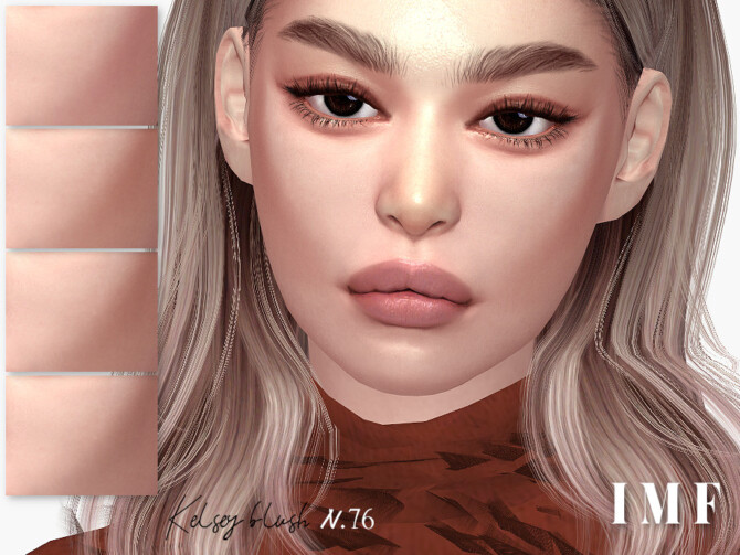 Sims 4 IMF Kelsey Blush N.76 by IzzieMcFire at TSR