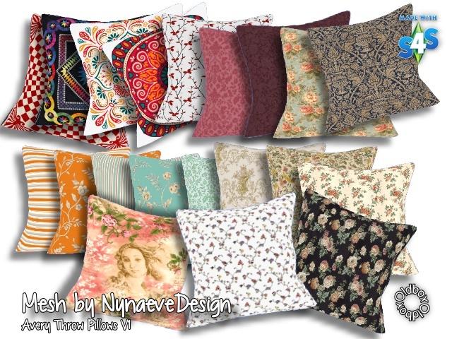 Sims 4 Pillows by Oldbox at All 4 Sims