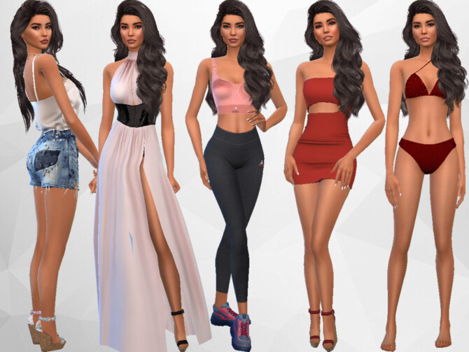 Sims 4 Esther Parsons by divaka45 at TSR