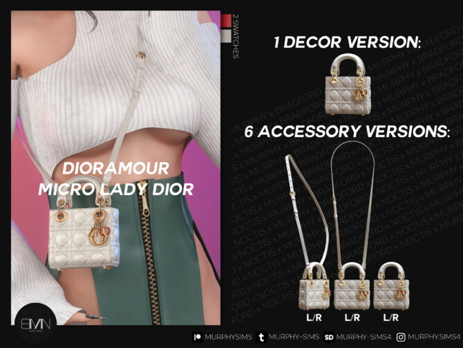 Sims 4 Micro Dioramour Lady Bag at MURPHY