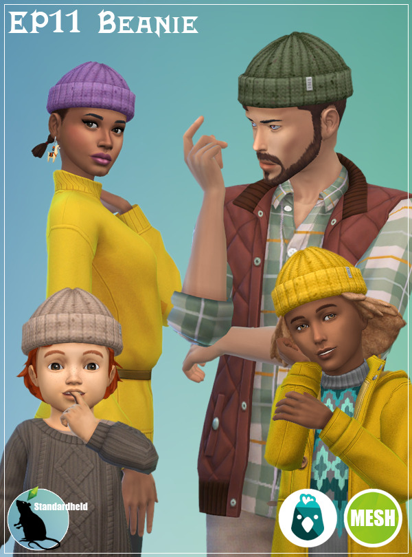 Sims 4 EP11 Beanie at Standardheld