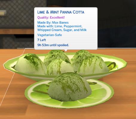 Sims 4 Summery Panna Cottas Custom Recipe at Mod The Sims 4