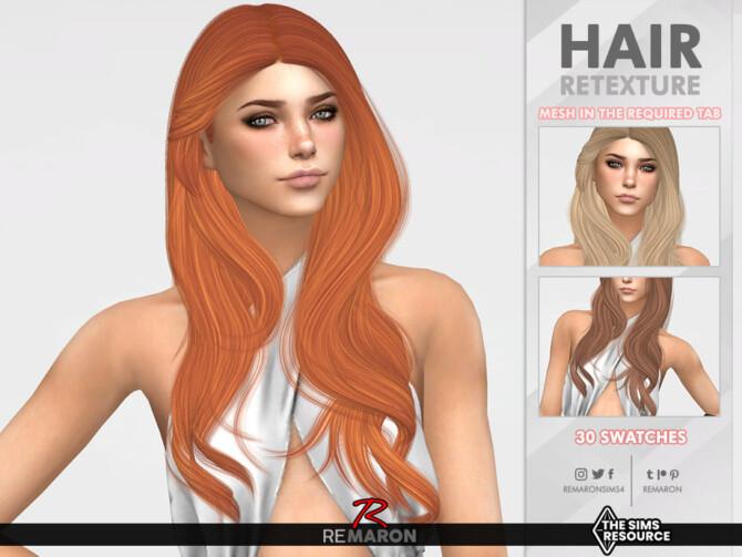 Sims 4 Hummingbird Hair Retexture by remaron at TSR