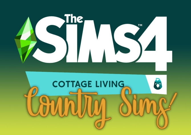 Sims 4 TS4 Cottage Living Sim Download at Miss Ruby Bird