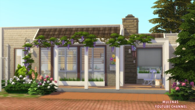Sims 4 Single mothers home at Sims by Mulena