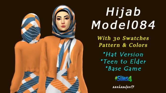 Sims 4 Hijab Model 084 & Markona Long dress at Aan Hamdan Simmer93
