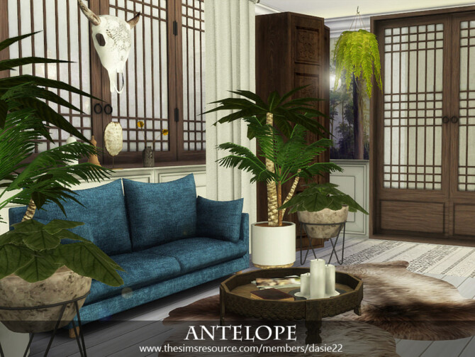 Sims 4 ANTELOPE hallway by dasie2 at TSR