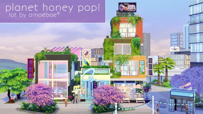 Sims 4 PLANET HONEY POP! a karaoke bar at Picture Amoebae