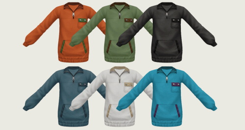 Sims 4 Pullover Kids Version at Simiracle