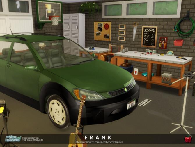 Sims 4 Frank garage by melapples at TSR