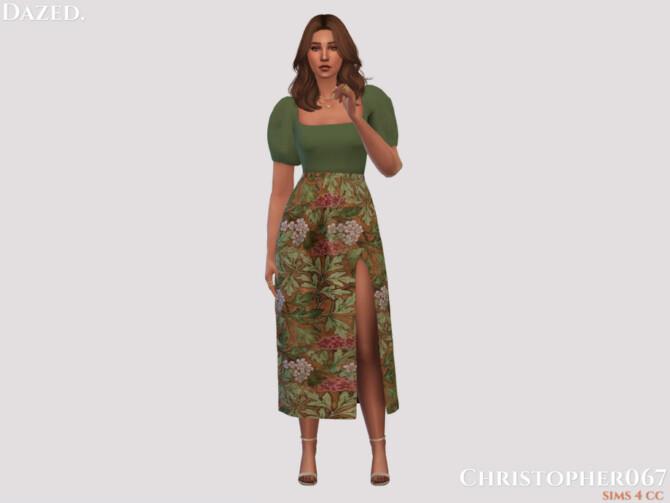 Sims 4 Dazed Skirt by Christopher067 at TSR