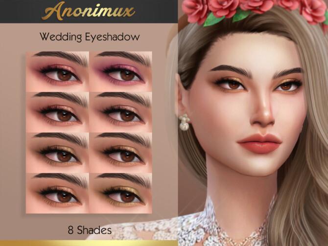 Sims 4 Bohemian Wedding Eyeshadow by Anonimux Simmer at TSR