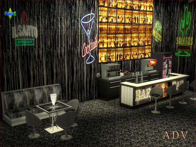 Sims 4 Night club furnishing sets at Arte Della Vita