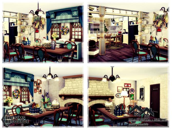 Sims 4 Hiacynta house by marychabb at TSR