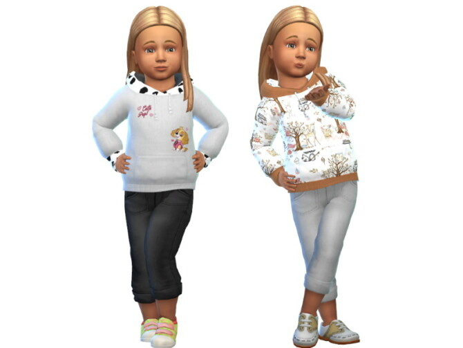 Sims 4 Toddler sweater at Louisa Creations4Sims