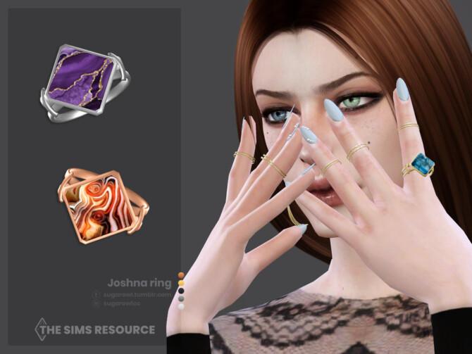 Sims 4 Joshna ring by sugar owl at TSR