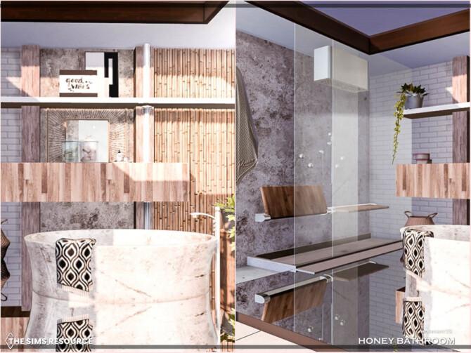 Sims 4 Honey Bathroom by Moniamay72 at TSR