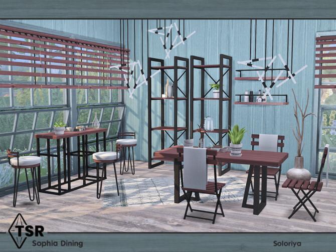 Sims 4 Sophia Dining by soloriya at TSR