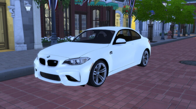 Sims 4 2016 BMW M2 at Modern Crafter CC
