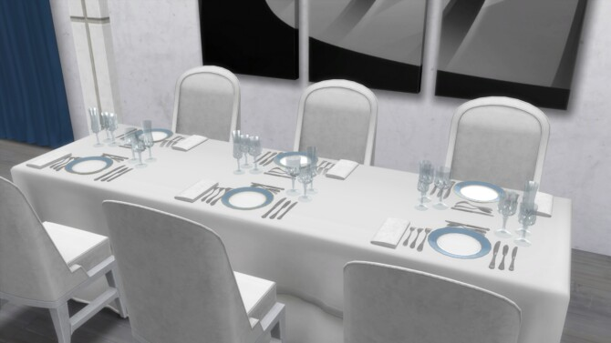 Sims 4 Dinnerware Set by TheJim07 at Mod The Sims 4
