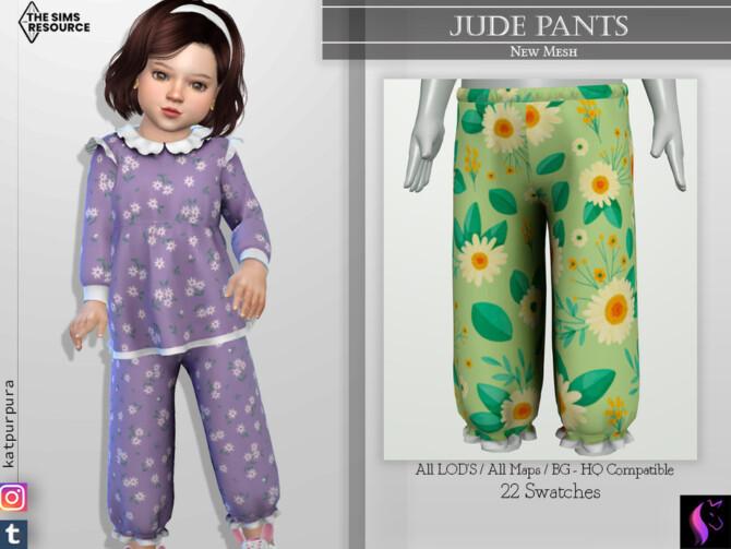 Sims 4 Jude Pants by KaTPurpura at TSR