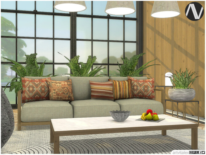Sims 4 Quebec Outdoor Living by ArtVitalex at TSR