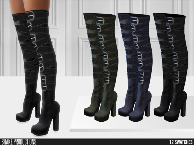 Sims 4 759   High Heels by ShakeProductions at TSR