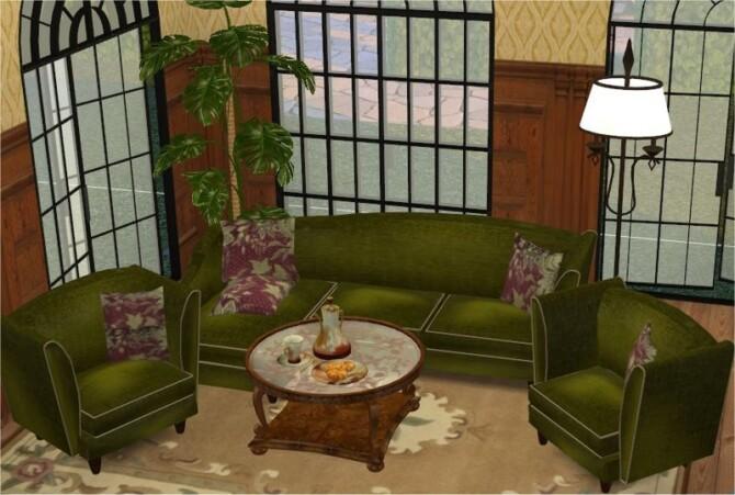 Sims 4 SIP Living Conversion to TS4 by Clara at All 4 Sims