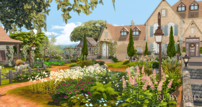 Sims 4 Lakeside Manor at Ruby Red