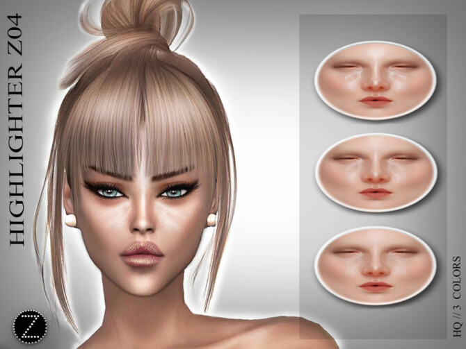 Sims 4 HIGHLIGHTER Z04 by ZENX at TSR