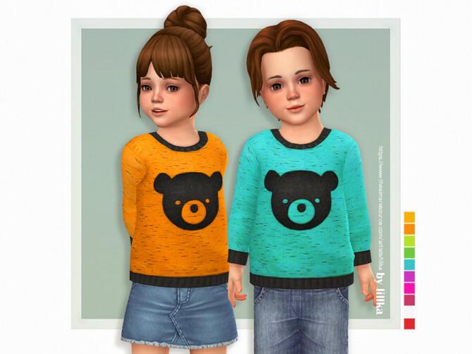 Sims 4 Bear Sweater by lillka at TSR