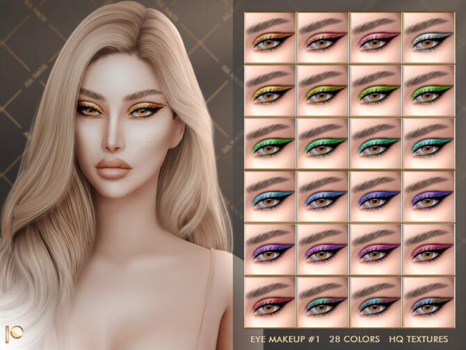 Sims 4 Eye make up #1 by Jul Haos at TSR
