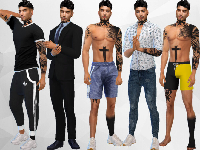 Sims 4 Lance Chester by divaka45 at TSR