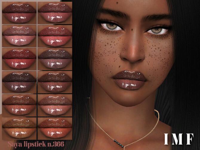 Sims 4 IMF Saya Lipstick N.366 by IzzieMcFire at TSR