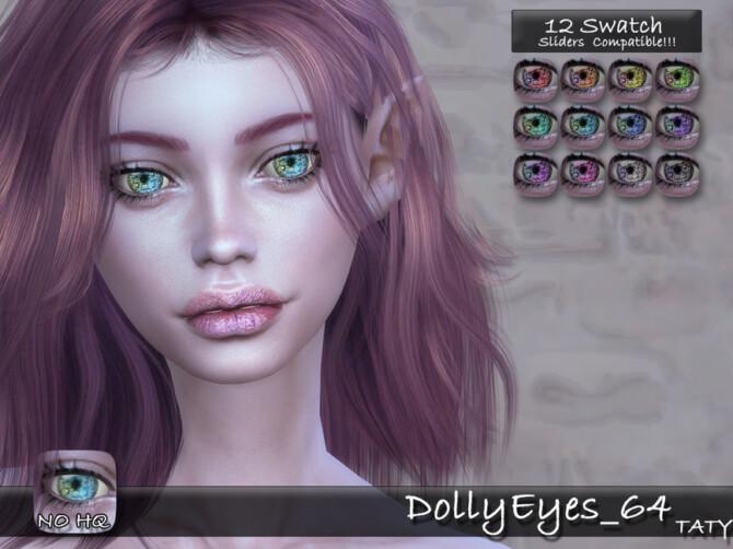 Sims 4 DollyEyes 64 by tatygagg at TSR
