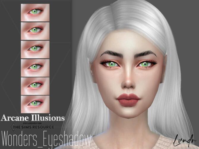 Sims 4 Arcane Illusions   Wonders Eyeshadow by LVNDRCC at TSR