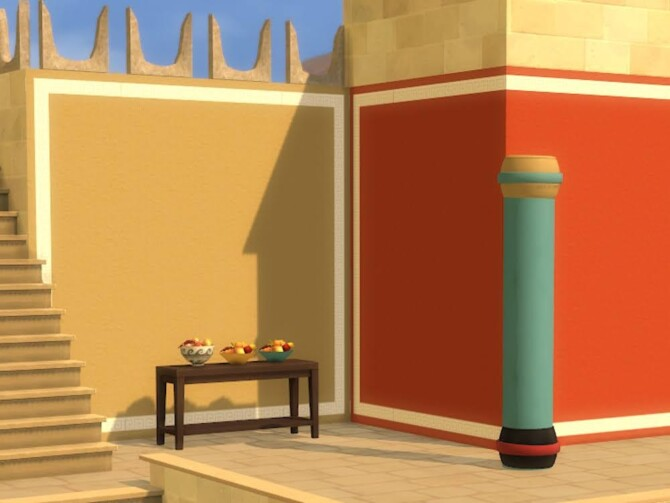 Sims 4 Manthos Palace BB set Part one at KyriaT's Sims 4 World