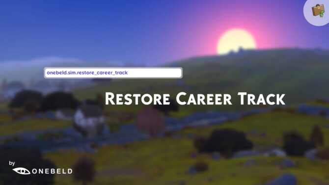 Sims 4 Restore Career Track by Onebeld at Mod The Sims 4