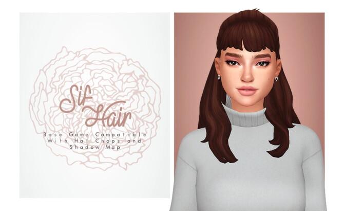 Sims 4 Sif Hair at Isjao