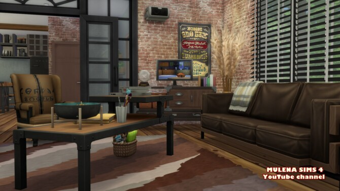 Sims 4 Loft House at Sims by Mulena