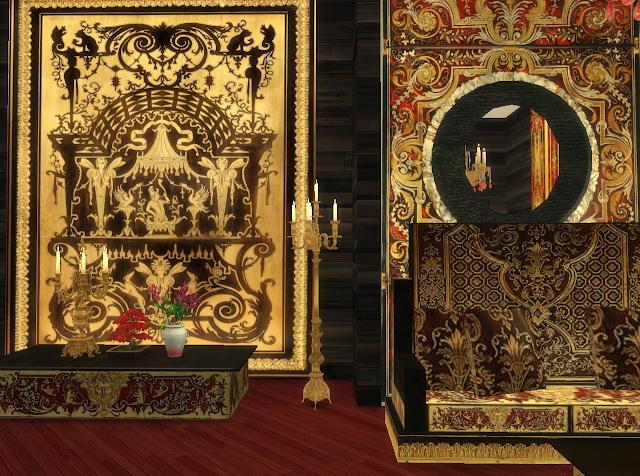 Sims 4 Royal Livingroom at Anna Quinn Stories