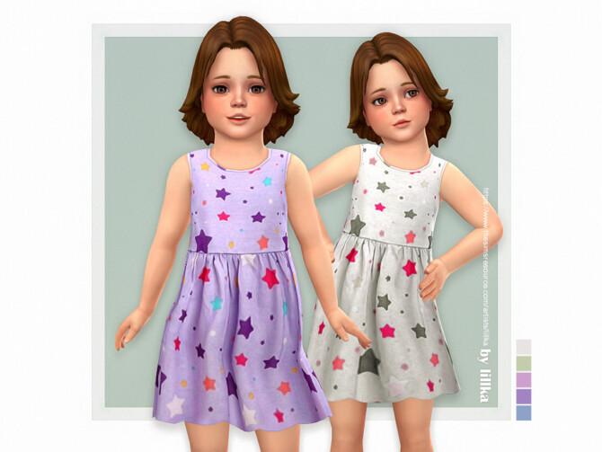 Sims 4 Maxima Dress by lillka at TSR