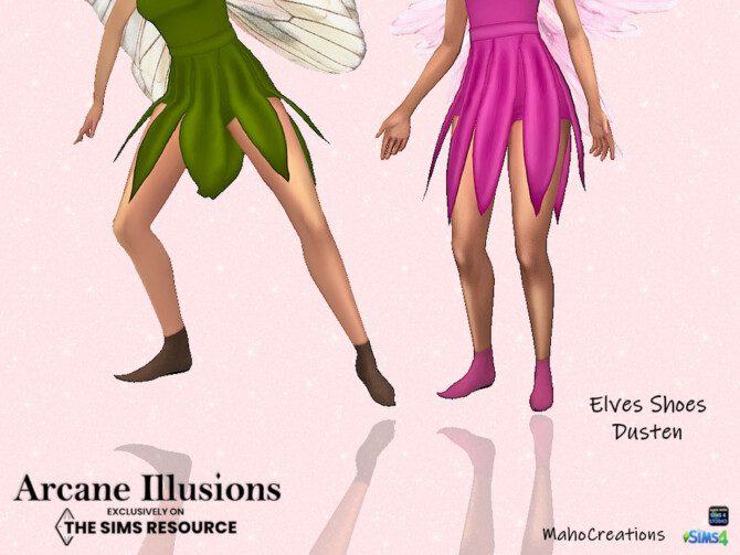 Sims 4 Arcane Illusions   Elves Shoe Dusten by MahoCreations at TSR