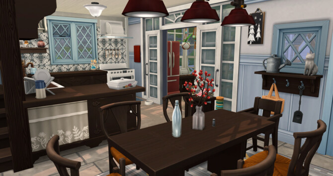 Sims 4 Cozy Logis at Simsontherope