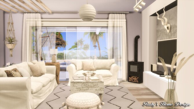 Sims 4 Palm Beach House 3 at Ruby Red