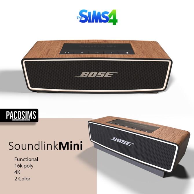Sims 4 SoundlinkMini Speaker (Functional) at Paco Sims