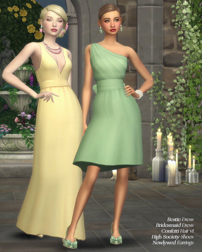 """Sims 4 """"Till Death Do Us Part"""" CC collaboration SENTATE X HFO X JOLIEBEAN"""